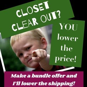 Other - CLOSET CLEAR OUT???
